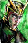 Loki Laufeyson by whalephants