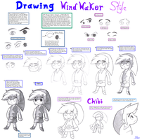 Drawing Wind Waker-Chibi by BlueLink