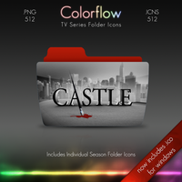 Colorflow TV Folder Icons: Castle by Crazyfool16