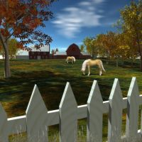 Autumn Day by BrokenWings3D
