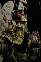 Judge Dredd by JonniO