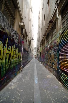 Melbourne Alley by MMalonephotography