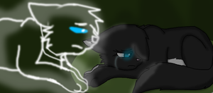 You never really left by Darkpaw-Lights