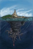 Floating Island by Newbeing