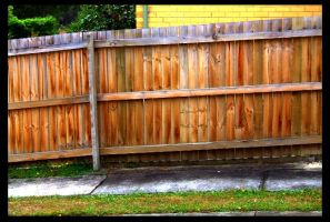 HDR Fence by Grayda