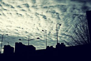 Attacked By Clouds by oliens