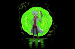 Rick Sanchez by Zinfer