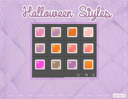 Halloween Styles by AleColorfulEditions