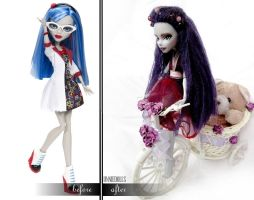 Violet (Fully Customized Monster High Doll) by Katalin89