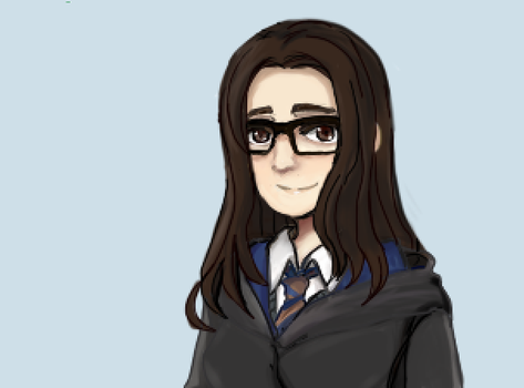 Ravenclaw student 2.ver by Tlaloc-Rain