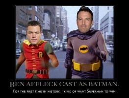 Ben Affleck officially cast as Batman by MexPirateRed
