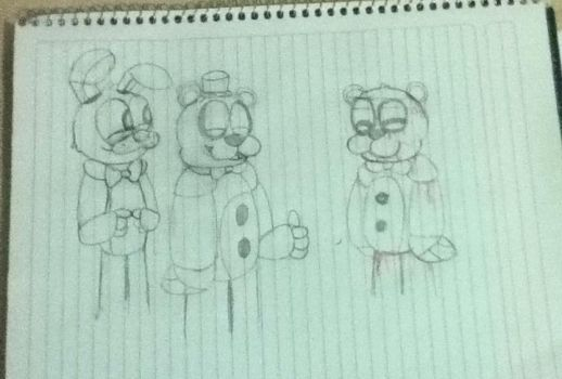 The new animatronic of freedy's pizzeria by Power-the-wolf