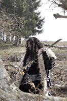 Thorin - Wandering on the mountain side by AlexOakenshield