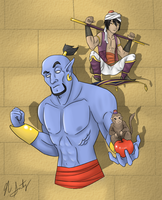 The Agrabah Gang by Nickarooski