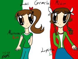 Mexico Twins by erisama