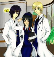 MEdical Trio by Nome-chan