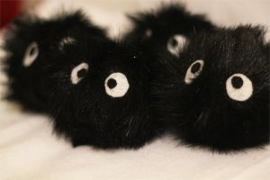 Soot Sprite Plushies2 by PastYourPorchlight
