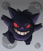 Happy Halloween Gengar by Syertse