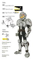 MechaGodzilla Ranger early Ver by RiderB0y