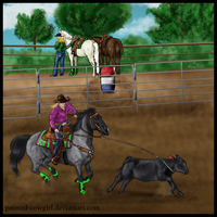 Spanky - 2012 SFWS Breakaway by painted-cowgirl