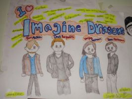 I love the Imagine Dragons by GothicTaco198