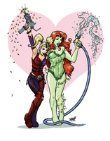 Harley and Ivy - Colors by DGanjamie