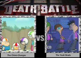 Death Battle - The Chimi-Changas vs The Yeah Brads by kbinitiald