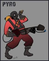 TF2 Pyro by Liabra