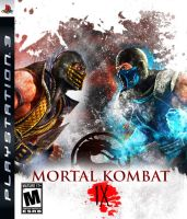 Mortal Kombat 9 cover 2 by terminator286