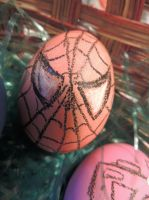 Spider Man Egg by Just-A-DreamerXo