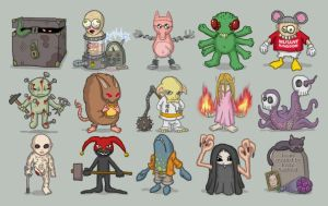 These Icons Are Evil by Fritze