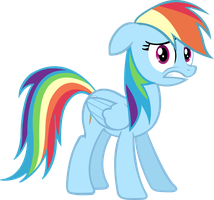 Rainbow Dash Vector by init3