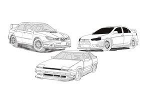 3 car forms by CrimsonJersey