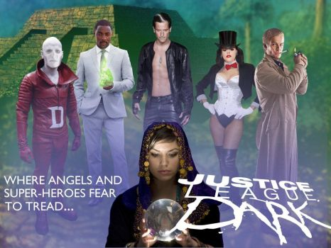 Justice League Dark 1 by TheWrightMan