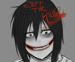 Jeff The Killer ! by Aleendy-Maiid
