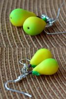Pears - earrings by Lovely-Ebru