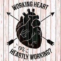 Working Heart Or Heartly Working ? by SwlloMerah