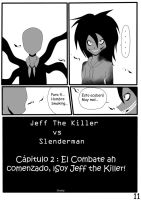 Jeff The Killer vs Slenderman Pagina 11 Spanish by Reuky