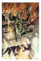 Green Hornet: My old pic for a Contest by shiprock