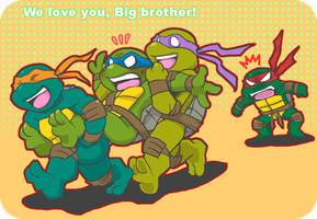 we love you, big bro! by FREAKfreak