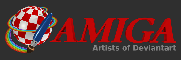 A Logo for Amiga Artists Group In Blender by PixelOz