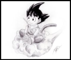 Son Goku by IDCabrera