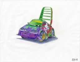 Wingo in the impound -scanned- by Evzoozer64