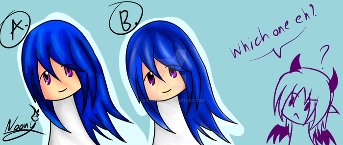 Coloring Style(need litle help to decide) by NoonyX224