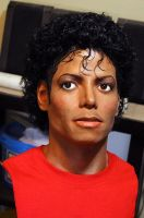Michael Jackson Thriller era lifesize bust by godaiking