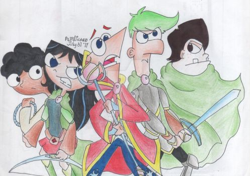 The Seer Characters REDO by PnFWizard