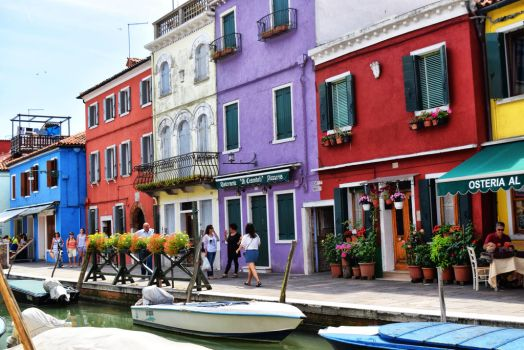 Summer Day in Burano by Joe795