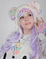 Grace - Lavender and White by GothicLolitaWigs