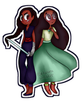 Steven Universe: New and Old SPEEDPAINT by MarianaSpaghetti