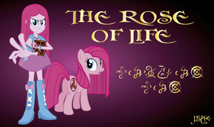 Wallpaper The Rose Of Life - Pinkie Pie by j5a4